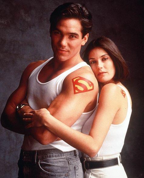Lois et Clark de la série du même nom